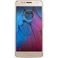Moto G5S Smartphone, Android, 5.2, 4G LTE, Exclusive Dual SIM, SIM Free, 32GB