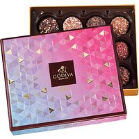 Godiva Truffle Delights Limited Edition Assortment, Box Of 12, 195g