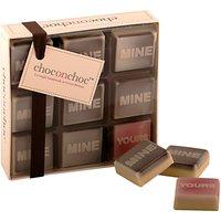 Choc on Choc Mine / Yours Chocolates, 90g