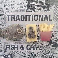 Choc on Choc Chocolate Fish & Chips, 90g