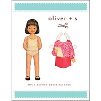 Oliver + S Children's Book Report Dress Sewing Pattern