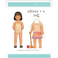 Oliver + S Childrens Carousel Dress Sewing Pattern