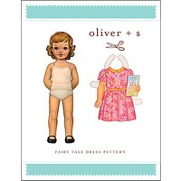 Oliver + S Children's Fairy Tale Dress Sewing Pattern