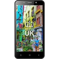 STK Life 8 Smartphone, Android, 5, 4G LTE, SIM Free, 8GB, Black