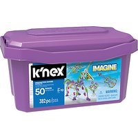K'Nex 16434 Imagine Imagination Makers 50 Model Building Set