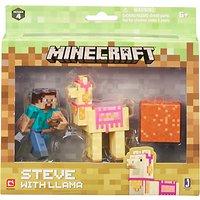 Minecraft Steve & Llama Series 4 Pack