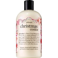 Philosophy Christmas Cookie Shampoo, Shower Gel & Bubble Bath, 480ml