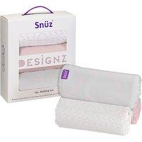 Snz Snuzpod Baby Rose Wave 3 Piece Bed Set