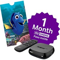 NOW TV Box with 1 Month Movies Pass, Black