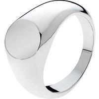 Melissa Odabash Signet Ring, Silver