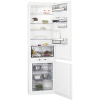 AEG SCE81911TS Integrated Fridge Freezer, A+ Energy Rating, 54cm Wide, White
