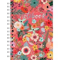 A5 Spiral Garden Notebook