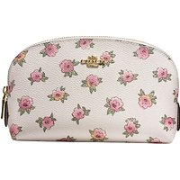 Coach Printed Canvas Cosmetic Case 17, Chalk/Multi