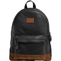 Coach Campus Backpack, Black/Mahogany