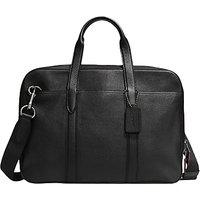 Coach Metropolitan Soft Leather Briefcase, Black