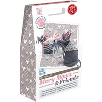 The Crafty Kit Company Knit Your Own Mary Mouse And Friends Kit