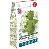 The Crafty Kit Company Knit Your Own Dragon Kit