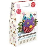 The Crafty Kit Company Sew Your Own Patchwork Owl Kit