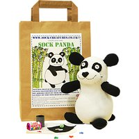 Sock Creatures Create Your Own Sock Panda Craft Kit