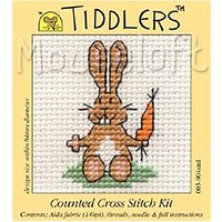 Mouseloft Tiddlers Bunny Counted Cross Stitch Kit