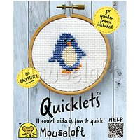Mouseloft Quicklets Penguin Counted Cross Stitch Kit