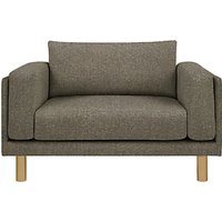 Design Project by John Lewis No.002 Snuggler, Light Leg, Hatch Charcoal