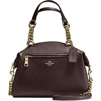 Coach Prarie Chain Leather Satchel Bag