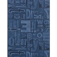 Ralph Lauren Copeley Letterpress Wallpaper