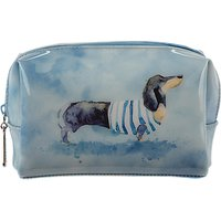 Catseye Dashshund Dog Cosmetic Bag