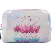 Catseye Flamingo Cosmetic Bag