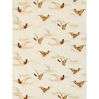 John Lewis Country Ducks Furnishing Fabric, Natural
