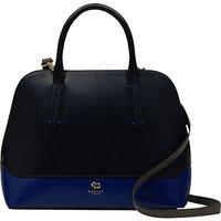Radley Kennington Leather Medium Multiway Grab Bag, Navy