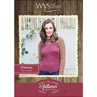West Yorkshire Spinners Bluefaced Leicester Womens Primrose Jumper Knitting Pattern