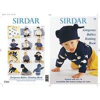 Sirdar Gorgeous Babies Knitting Pattern Book