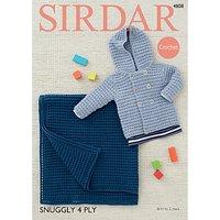 Sirdar Snuggly 4 Ply Crotchet Pattern, 4808