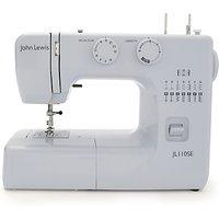 John Lewis & Partners JL110 Sewing Machine, Steel Blue