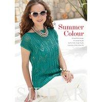Sirdar Summer Colour Knitting Pattern Book