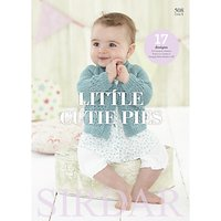 Sirdar Snuggly Baby Bamboo Little Cutie Pies Knitting Pattern Book