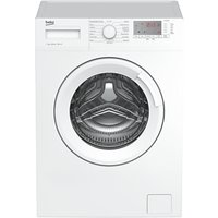 Beko WTG721M1W Freestanding Washing Machine, 7kg Load, A+++ Energy Rating, 1200rpm Spin, White