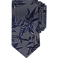 Ted Baker Israel Floral Pattern Silk Tie, Purple