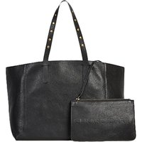 Gerard Darel Leather Studded Tote Bag