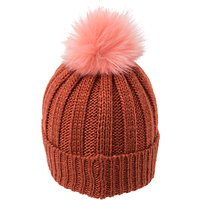 French Connection Pom Pom Beanie Hat, One Size