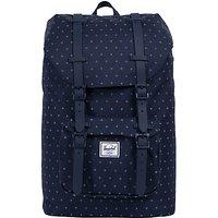 Herschel Supply Co. Little America Mid-Volume Backpack, Peacoat Grid