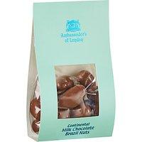 Ambassadors of London Continental Milk Chocolate Brazil Nuts, 175g
