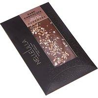 Nelleulla Sea Salt Cocoa Nibs Dark Chocolate Bar, 80g
