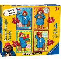 Ravensburger Paddington Bear Jigsaw Puzzle, Pack of 4