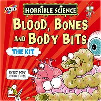 Galt Horrible Science Blood Bones And Body Bits The Kit