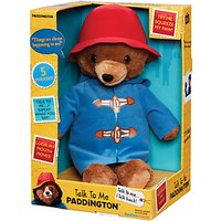 Paddington Bear Talk To Me Paddington Soft Toy