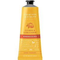 Crabtree & Evelyn Citron & Coriander Energising Hand Therapy, 100ml