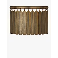 John Lewis Indriya Wall Light, Antique Brass